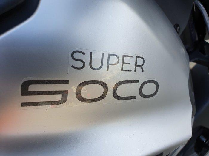 2020 Super Soco TC MAX ALLOY WHEEL White