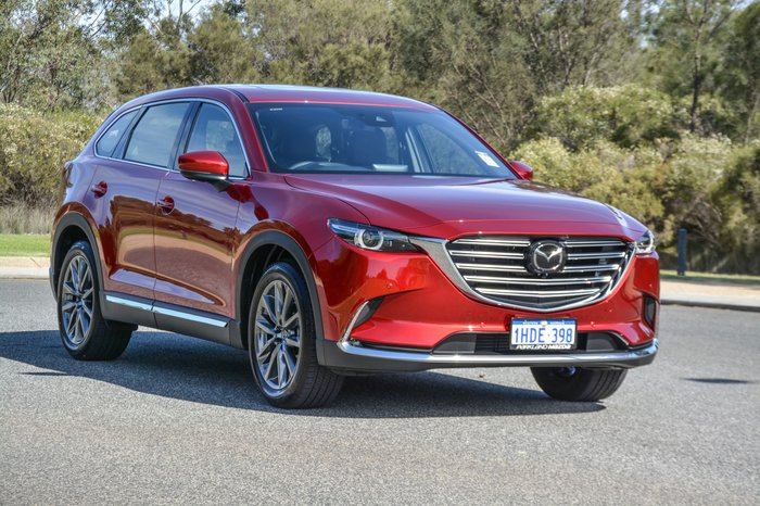 2020 Mazda CX-9 Azami TC 4X4 On Demand Red