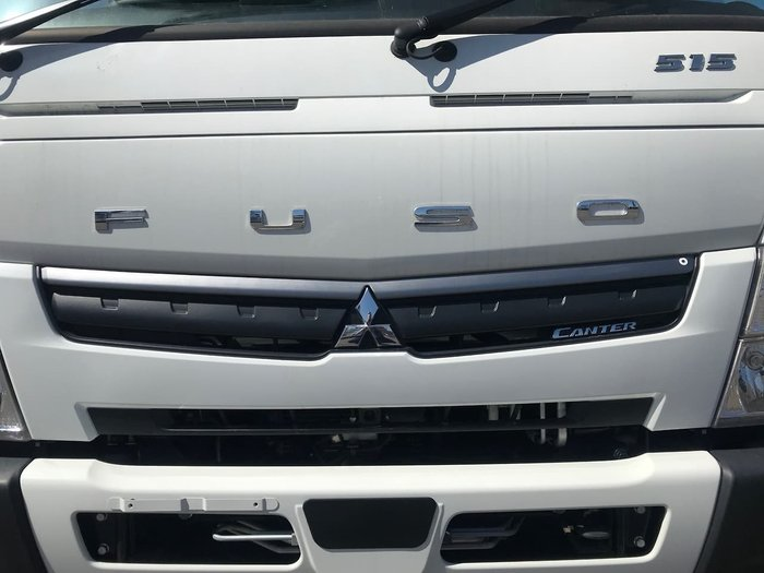 2020 FUSO CANTER 515 DROPSIDE TRAY AUTO White