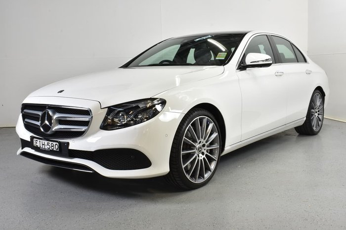 2019 Mercedes-Benz E-Class E450 W213 Four Wheel Drive White
