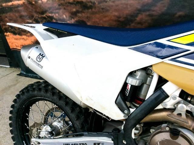 HUSQVARNA FX 450 ENDURO WHITE