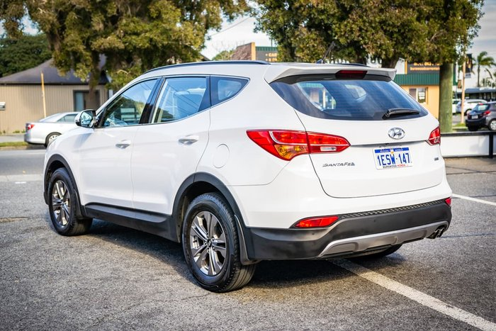 2015 Hyundai Santa Fe Active DM2 MY15 4X4 On Demand White