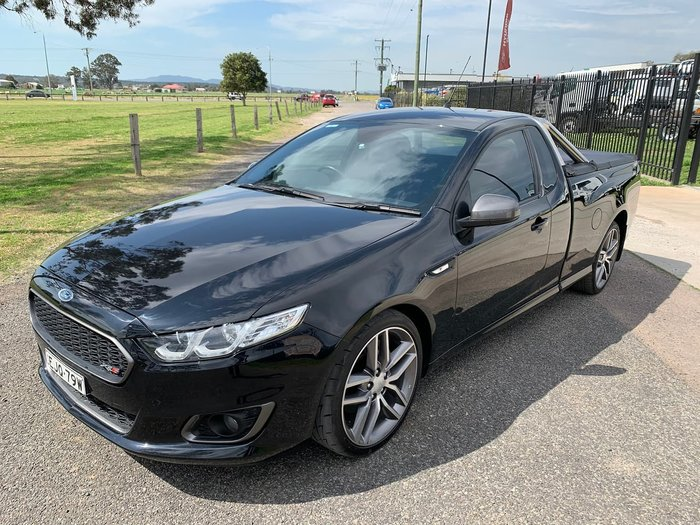 2015 Ford Falcon Ute XR6 Turbo FG X Black