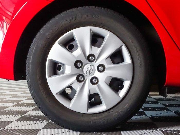 2012 Hyundai i30 SX FD MY11 Red