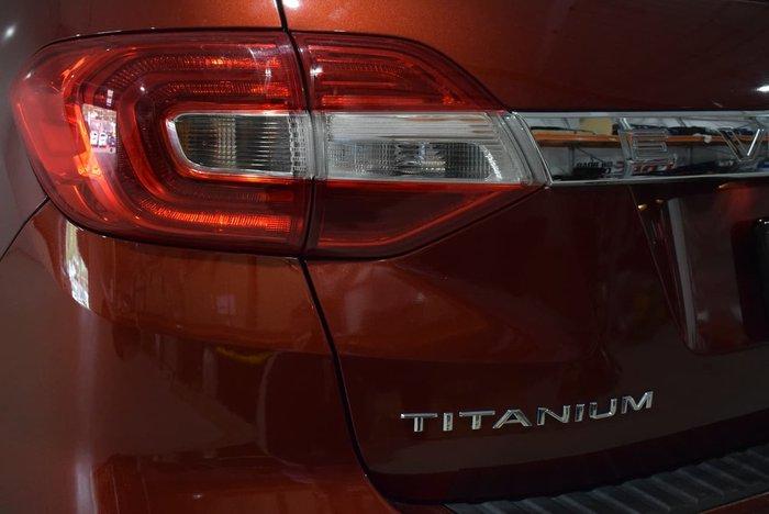 2015 Ford Everest Titanium UA 4X4 Dual Range Red