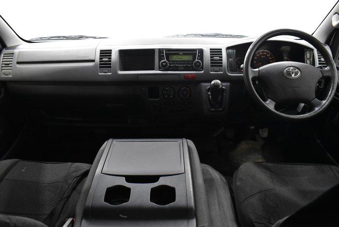 2013 Toyota Hiace TRH221R MY12 Quicksilver