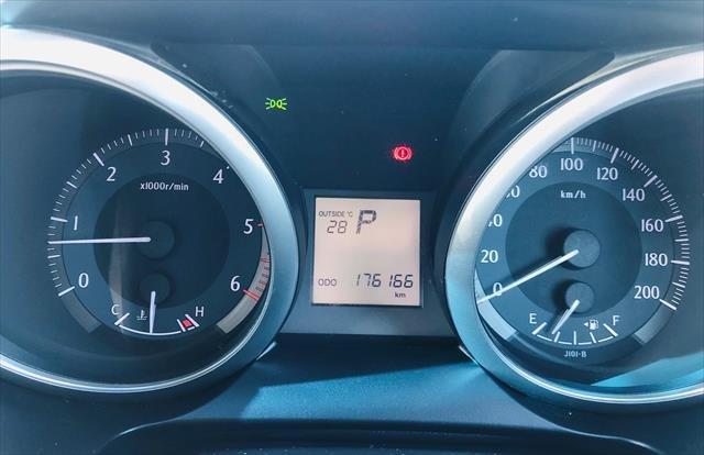 2015 Toyota Landcruiser Prado GXL KDJ150R MY14 4X4 Dual Range BLUE