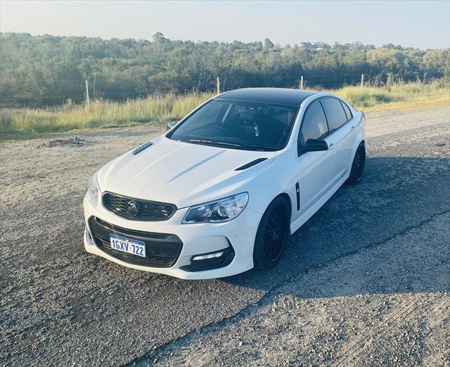 2016 Holden Commodore SS VF Series II MY16 WHITE
