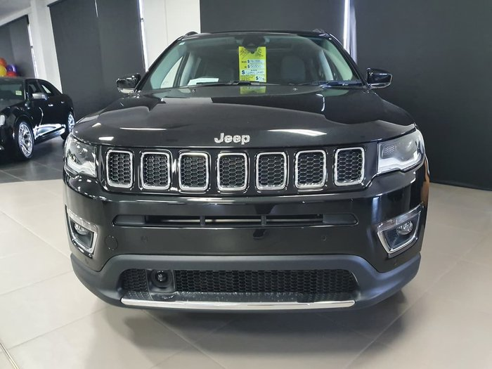 2020 Jeep Compass Limited M6 MY20 4X4 On Demand Drive Type: Brilliant Black
