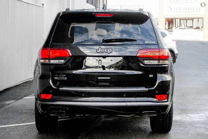 2020 Jeep Grand Cherokee S-Limited WK MY20 4X4 Dual Range Black