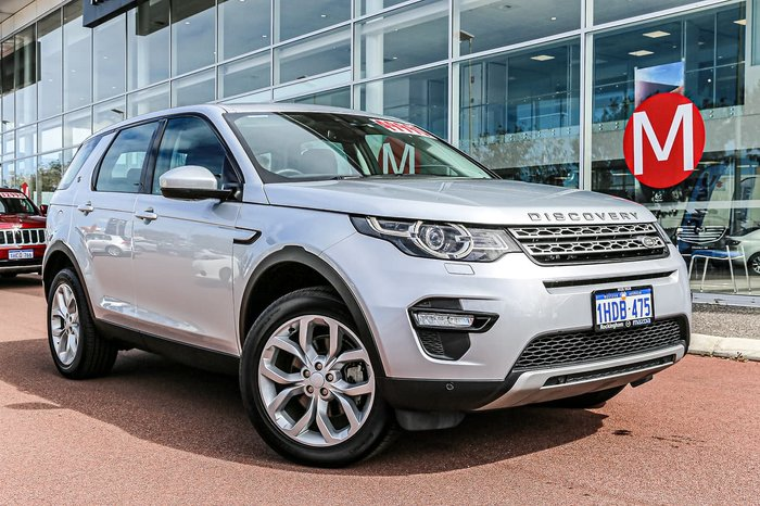 2017 Land Rover Discovery Sport TD4 150 HSE L550 MY17 4X4 Constant Silver