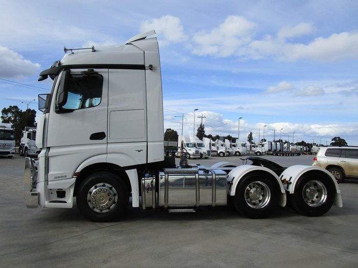 2017 MERCEDES-BENZ ACTROS 2658LS null null WHITE