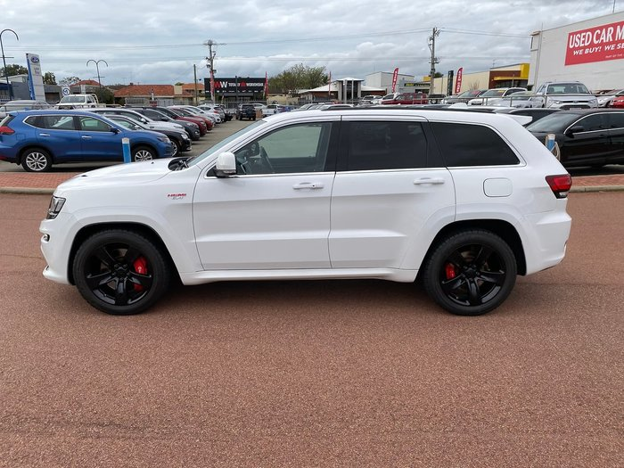 2015 Jeep Grand Cherokee SRT WK MY15 4X4 On Demand White