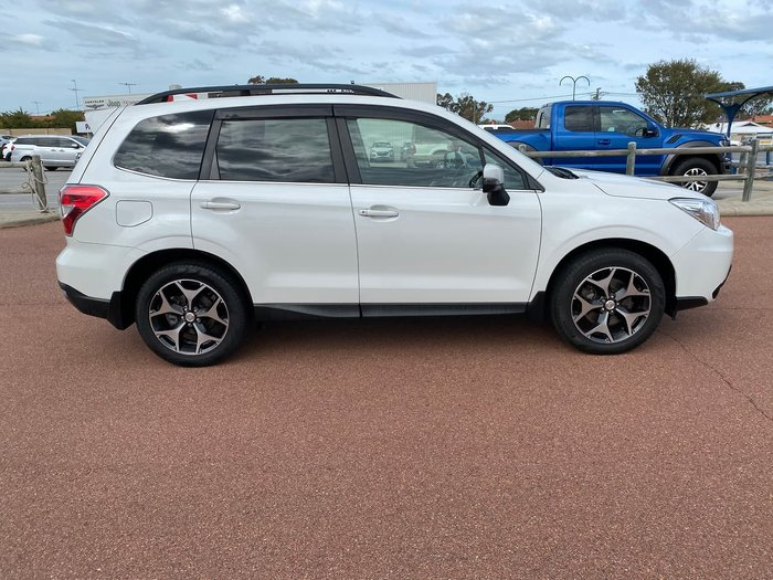 2015 Subaru Forester 2.0D-S S4 MY15 Four Wheel Drive White
