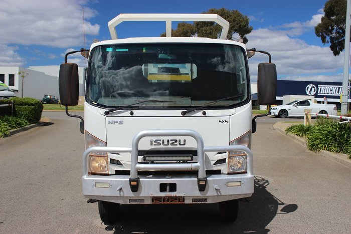 2016 ISUZU NPS 75/45 - 155 4X4 WHITE