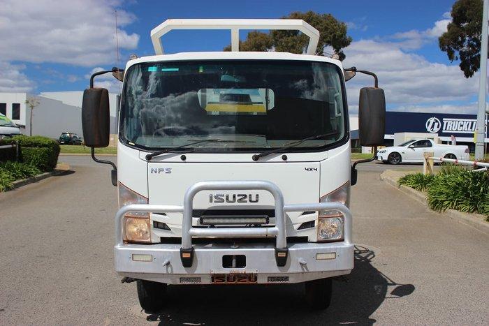 2016 ISUZU NPS 75/45 - 155 4X4 WHITE