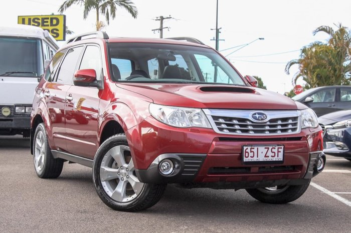 2011 Subaru Forester 2.0D Premium S3 MY11 Four Wheel Drive Red