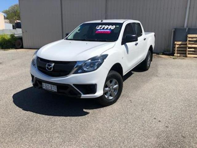 2017 Mazda BT-50 Mazda BT-50 S 6AUTO 3.2L DUAL CAB UTILITY XT 4X2 Cool White