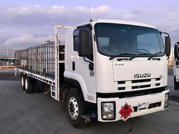 2008 ISUZU FVM 1400 null null WHITE