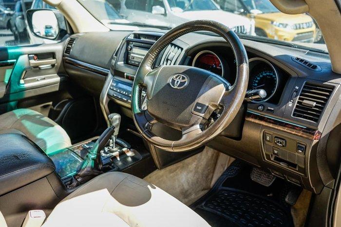 2008 Toyota Landcruiser VX VDJ200R 4X4 Constant Gold