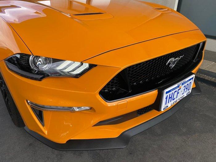 2018 Ford Mustang GT FN MY19 Orange