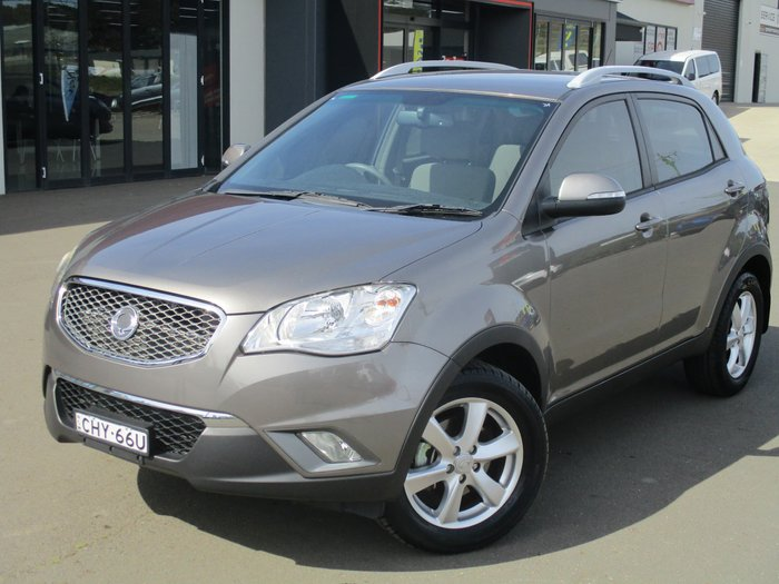 2011 SsangYong Korando SX C200 Four Wheel Drive Grey