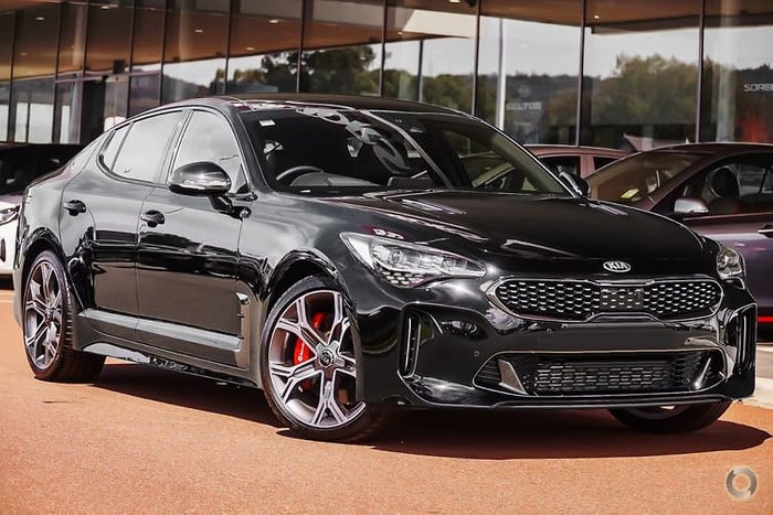 2020 Kia Stinger GT CK MY20 Black