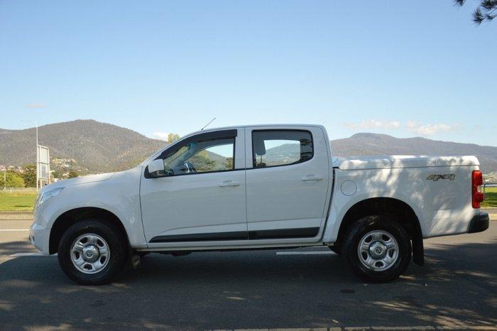 2014 Holden Colorado LS RG MY15 4X4 Dual Range WHITE