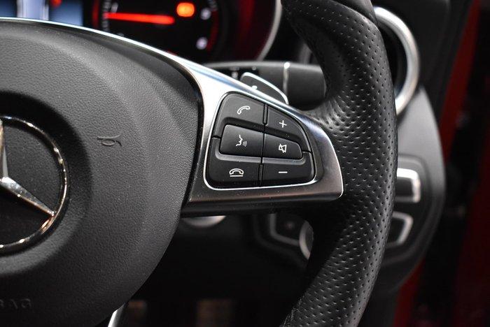 2018 Mercedes-Benz C-Class C250 d W205 Red