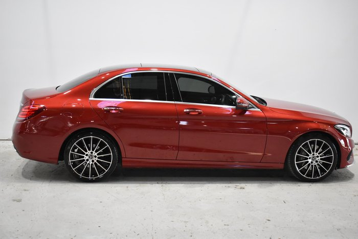2018 Mercedes-Benz C-Class C250 d W205 Red