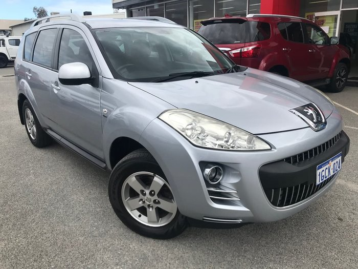2010 Peugeot 4007 ST HDi (No Series) 4X4 On Demand Silver
