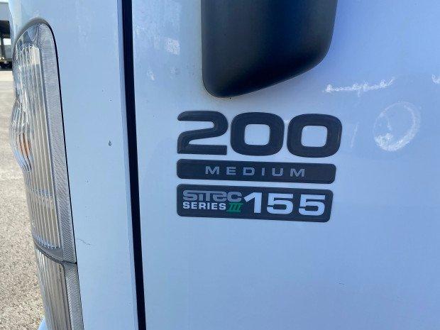 2012 Isuzu NPR200 Medium Tray CAR LICENCE White