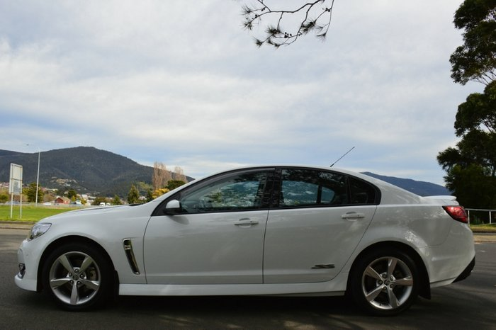 2015 Holden Commodore SS VF Series II MY16 WHITE