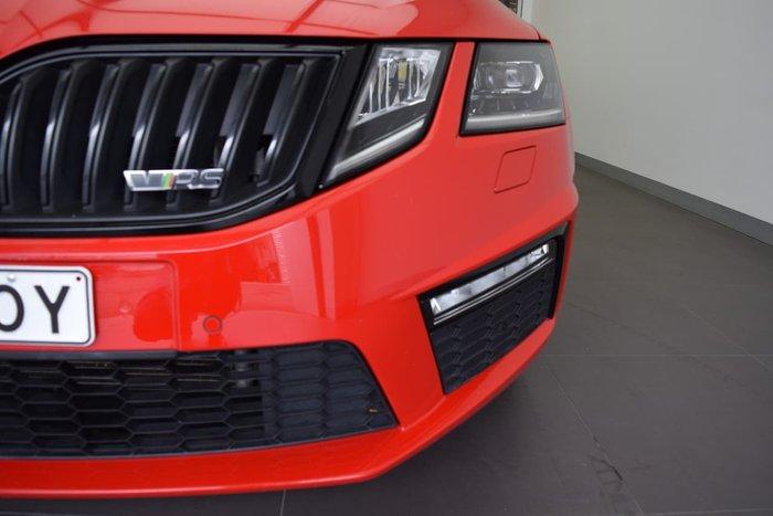 2018 SKODA Octavia RS 169TSI NE MY18.5 Red