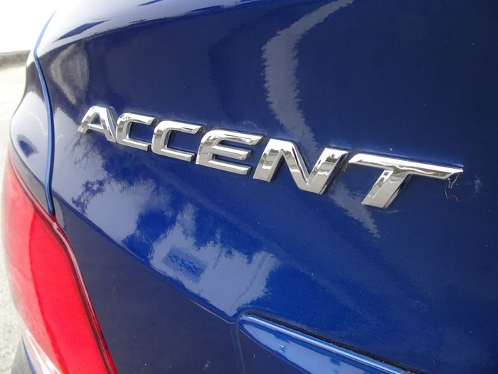 2016 Hyundai Accent Active RB3 MY16 Blue