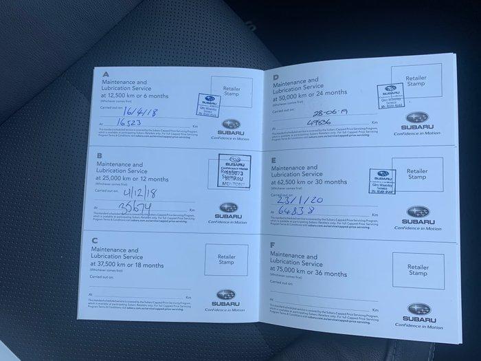 2017 Subaru Outback 2.5i Premium 5GEN MY17 Four Wheel Drive Silver