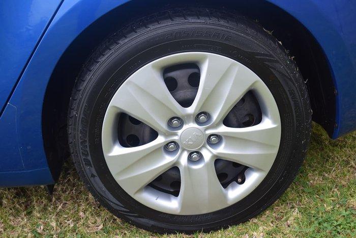 2013 Kia Cerato S YD Blue