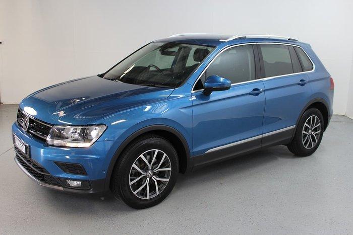 2018 Volkswagen Tiguan 110TSI Comfortline 5N MY18 Blue