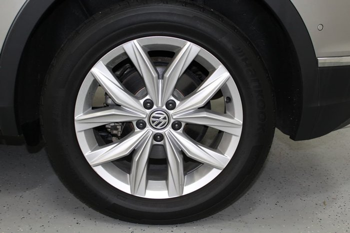 2017 Volkswagen Tiguan 162TSI Highline 5N MY17 Four Wheel Drive Silver