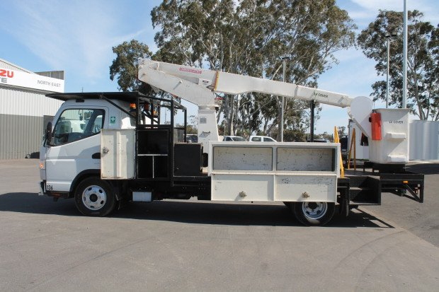 2016 Fuso Canter 615 EWP LOW KMS White