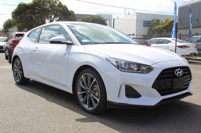 2020 Hyundai Veloster JS MY20 Chalk White