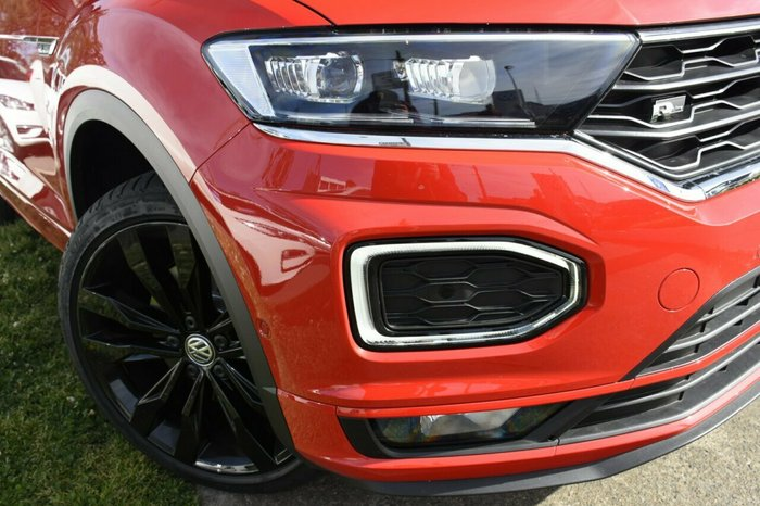 2020 Volkswagen T-Roc 140TSI X A1 MY20 Four Wheel Drive Flash Red