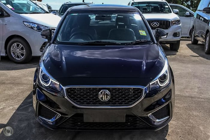 2020 MG MG3 Excite MY20 Black