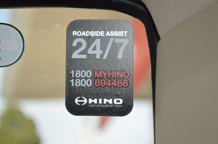 2020 HINO 500 FC 1124 null null White