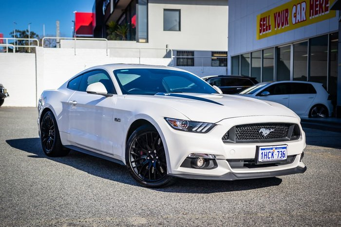 2017 Ford Mustang GT FM MY17 White