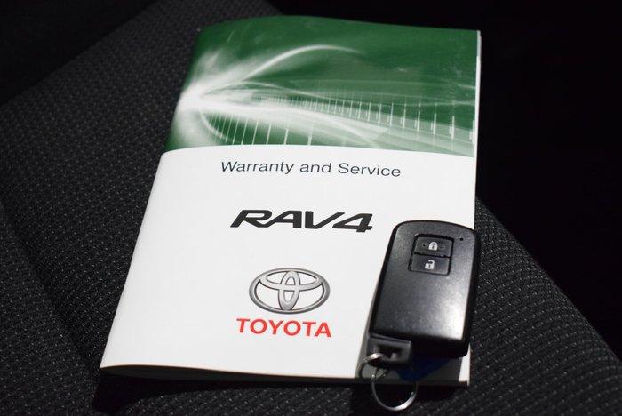 2017 Toyota RAV4 GXL ZSA42R Blue