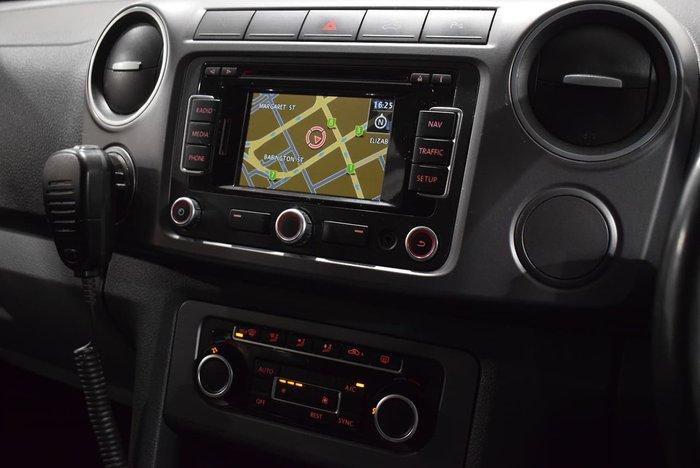 2014 Volkswagen Amarok TDI400 Highline 2H MY15 4X4 Dual Range Grey