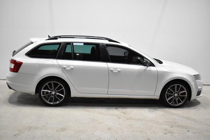 2016 SKODA Octavia RS 162TSI NE MY17 White