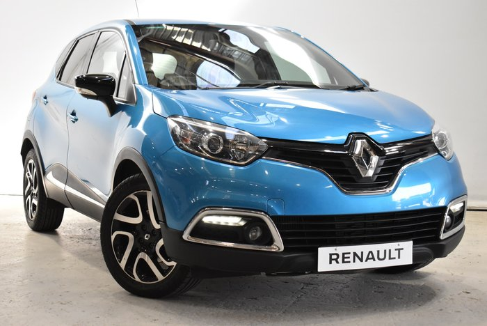 2016 Renault Captur Dynamique J87 Blue