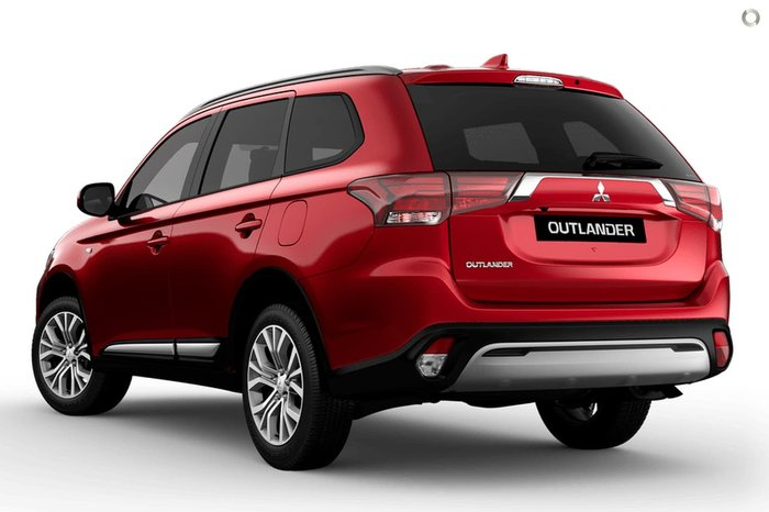2020 Mitsubishi Outlander ES ZL MY20 4X4 On Demand Red